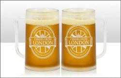 LONDON BEER TANKARD 400ML