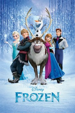 FROZEN POSTER CAST