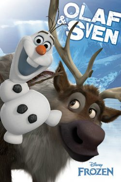 FROZEN POSTER OLAF & SVEN