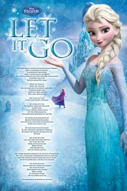 FROZEN POSTER LET IT GO F1