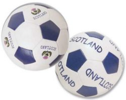 SCOTTISH SOFT MINI FOOTBALLS