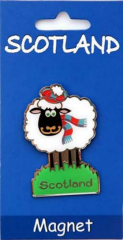 SHEEP BRASS MAGNET