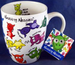 NAUGHTY NESSIES MUG