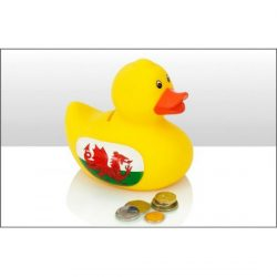 WALES RUBBER DUCK BANK
