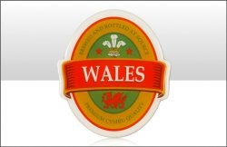 WALES BREWERY LABEL MAGNET
