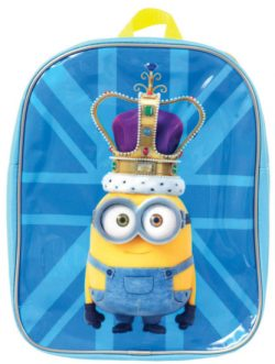 Minions British Crown Small Backpack