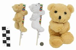 PLUSH & LOLLY TEDDY BEAR