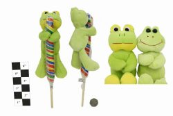 PLUSH & LOLLY FROGS