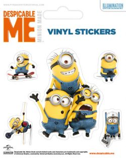 STICKER SET DESPICABLE ME (MINIONS DOING)