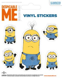STICKER SET DESPICABLE ME (ILLUSTRATED MINION)