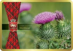 FLOWER OF SCOT TARTAN COLLECTION S/BREAD TIN 150g