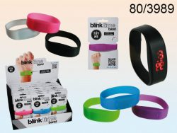 SILICONE BRACELET DIGITAL WATCH