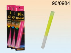 3 ASSORTED COLOURED GLOW STICKS