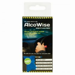 ALCOWISE BREATHALYSER