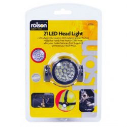 21 LED Head Lamp Adjustable head position