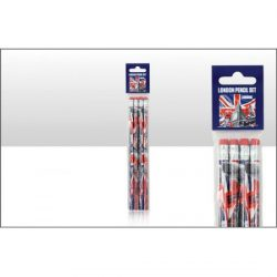 CAPITAL LONDON SET OF 4 PENCILS