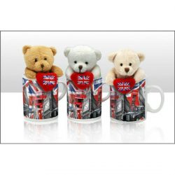 CAPITAL LONDON BEAR IN MUG