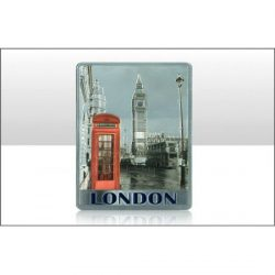LONDON RED PHONEBOX FOIL MAGNET
