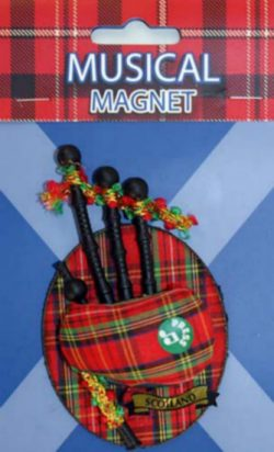 MUSICAL MAGNET BAGPIPES