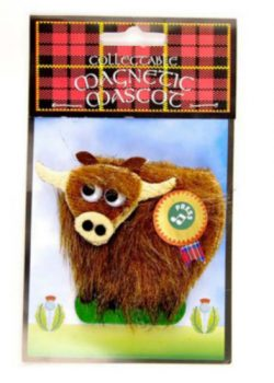 MUSICAL MAGNET HIGHLAND COW
