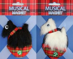 MUSICAL MAGNET SCOTTIES