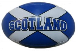 MINI RUGBY BALL SALTIRE