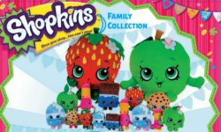 SHOPKINS MED PLUSH 6 ASSORTED
