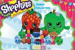SHOPKINS SMALL PLUSH 5 ASSORTED