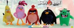 ANGRY BIRD MOVIE MED PLUSH