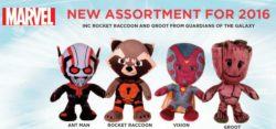 GUARDIANS OF THE GALAXY MARVEL 12″ PLUSH 4 A