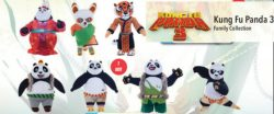 MED KUNG FU PANDA 3 PLUSH 7ASS