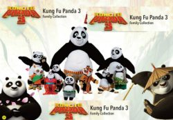 SM KUNG FU PANDA 3 PLUSH 7ASS