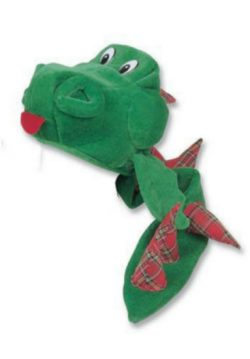 NESSIE HAT & TAIL (RED TARTAN)