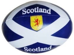 MINI SCOTTISH RUGBY BALL