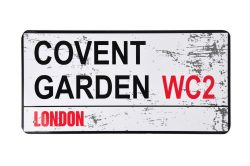 TIN STREET NAME LARGE – COVENT GARDEN