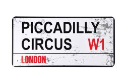 TIN STREET NAME LARGE – PICAD CIRCUS