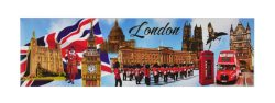 LONDON MULTI SCENES FRIDGE MAGNET