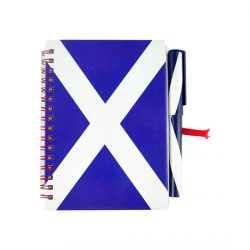 SCOTTISH SALTIRE A6 PAD & PEN