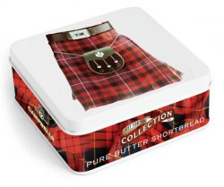 Square Kilt Tin (shortbread fingers) 90g