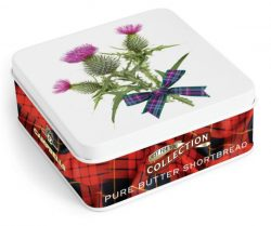 Square Thistle Tin (shortbread fingers)