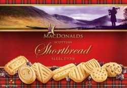 Scottish S/bread Selec with choc chips 500g