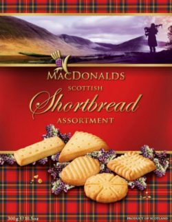 Scottish Shortbread Assortment 300g