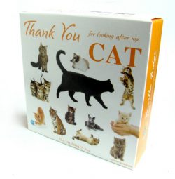 Thank You Carton Cats Vanilla Fudge 200g