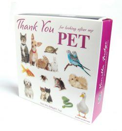 Thank You Carton Pets Vanilla Fudge 200g