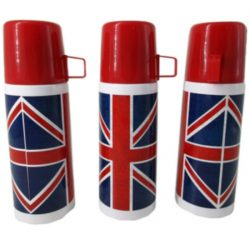 Union Flag Design Stainless Steel 350ml Flask