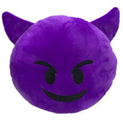 EMOTI PLUSH CUSHION – ANGRY