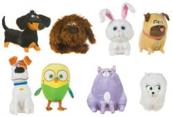 SLOP 8 ASSORTED SOFT TOYS