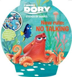 Finding Dory Sticker By Shapes