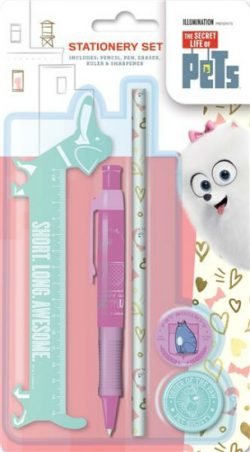 Secret Life Of Pets Stationery Set