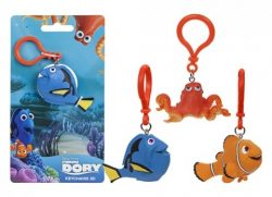 FINDING DORY 3D CLIP ON 3 ASSORTED